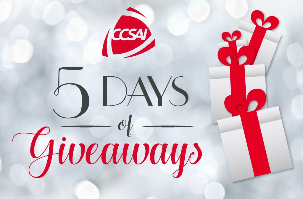 5 Days of Giveaways