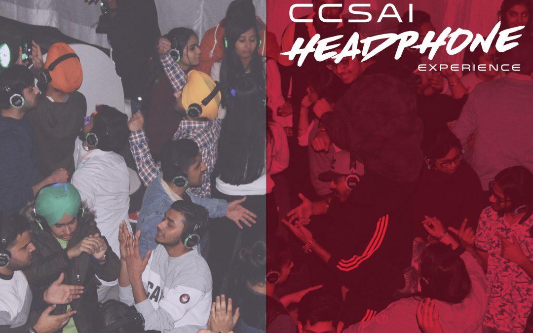 CCSAI Headphone Experience