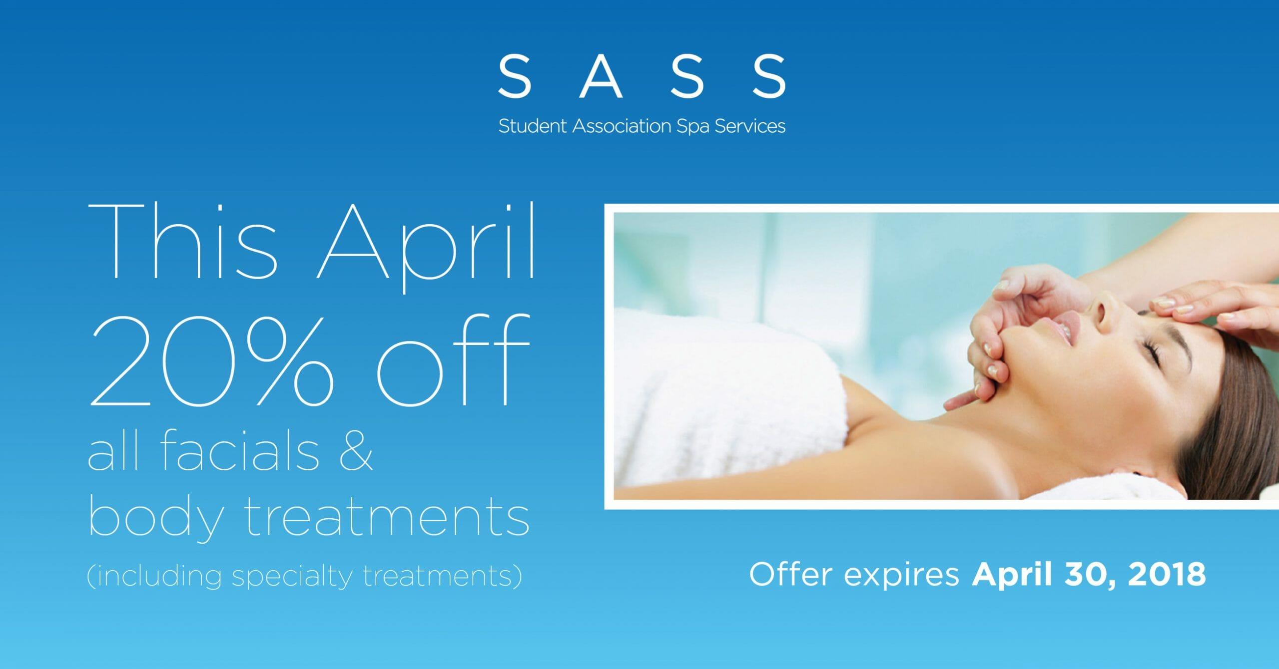 SASS spring specials