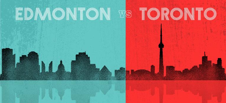 Edmonton vs Toronto