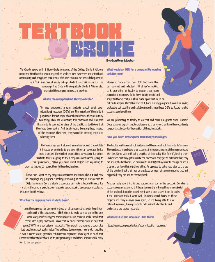 Textbook Broke | CCSAI