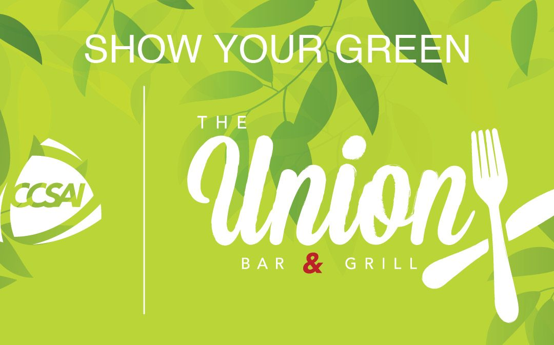 Show Your Green Union Bar & Grill