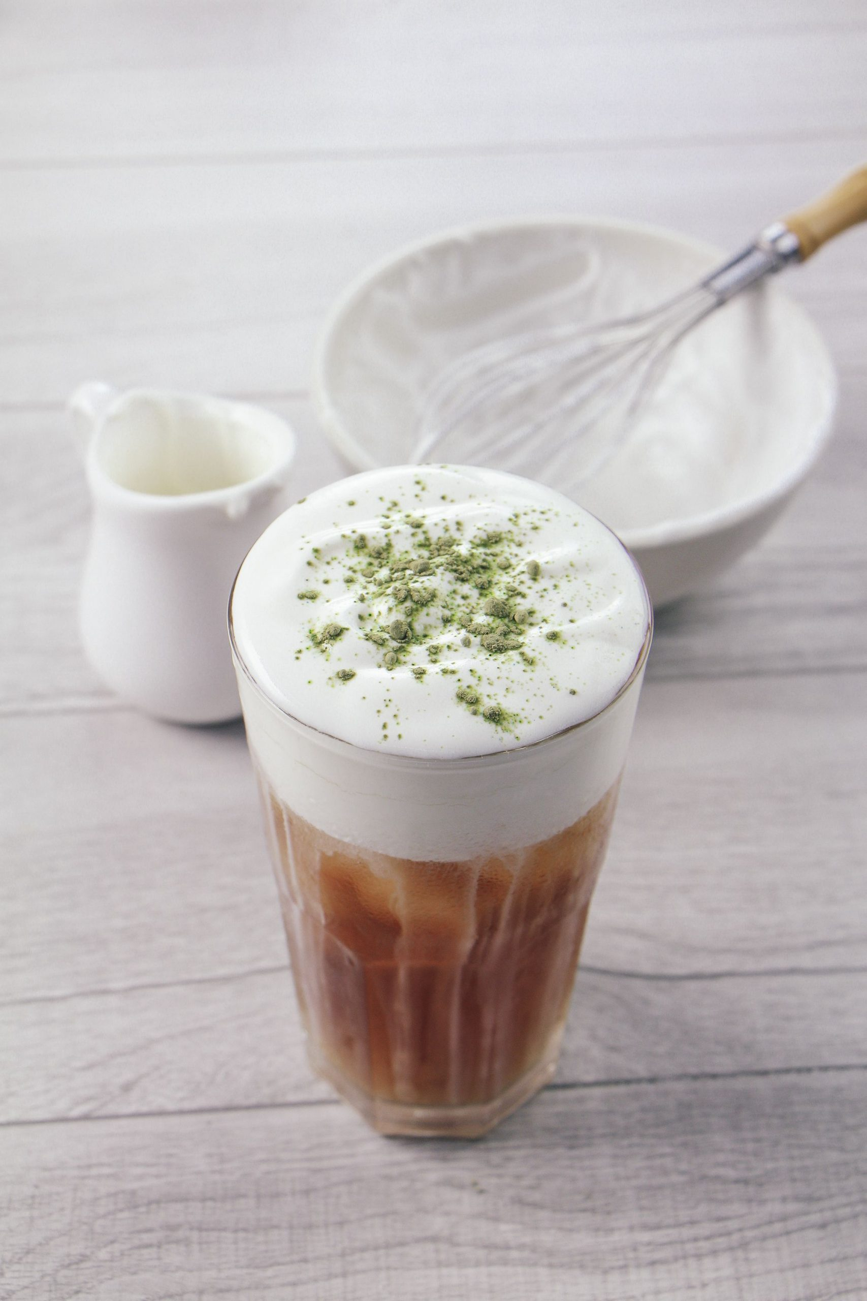 Milk foam for bubble tea (Cheese matchiato)